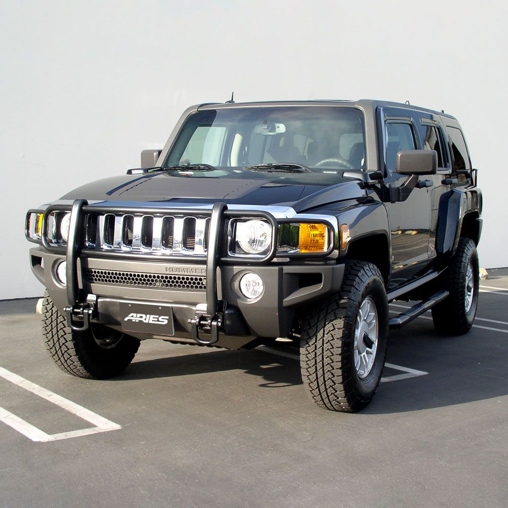 Grille Guard | hummer h3 grill guard