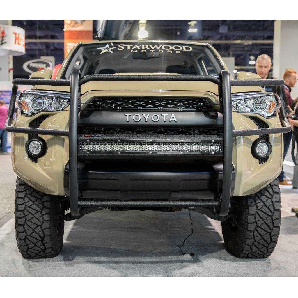 Pro Series Black Steel Grille Guard Select Toyota 4runner
