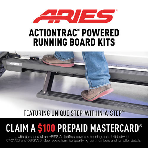 ARIES ActionTrac Promotion 2020