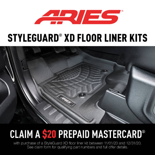 ARIES StyleGuard XD Promotion 2020